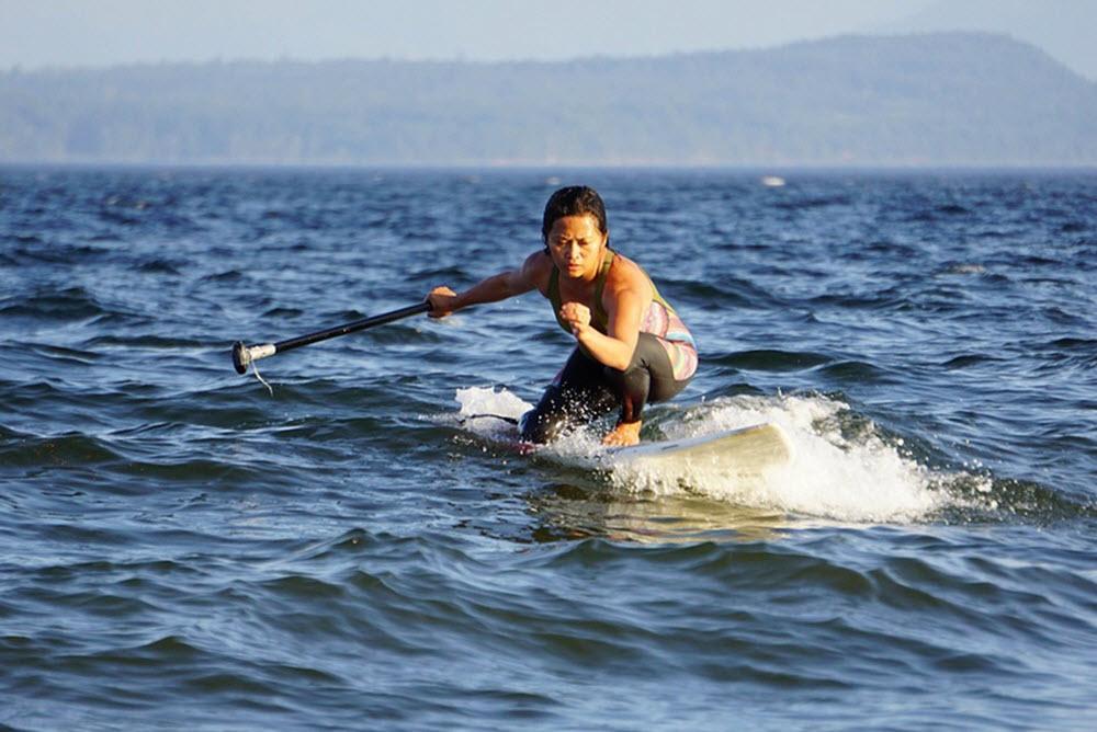 paddleboardig